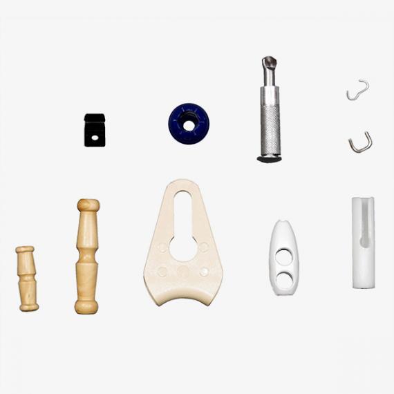 Fabrication d'accessoires pour tendeurs, sangles et filets-Eurosandow